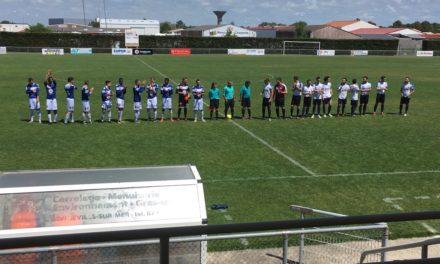 DRH (22e journée) : La défaite en chantant pour Angers NDC à la Tranche-sur-Mer (2-1).