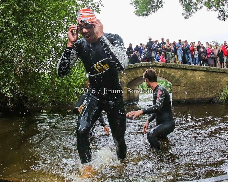 Présentation de la troisième édition du Triathlon de Montreuil-Juigné.