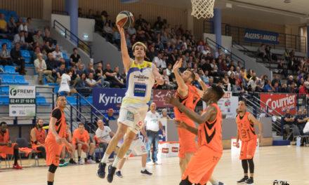 NM2 (play-offs, match aller) : L'Étoile Angers Basket s'impose sur le fil face à Kaysersberg (89-84).