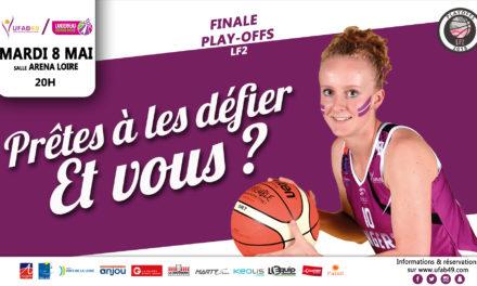 LF2 (finale de play-offs) : L'UFAB 49 reçoit Landerneau avec pour objectif la validation de la montée en Ligue Féminine.