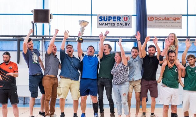L'AAEEC Kin-Ball Champion de France 2018 !
