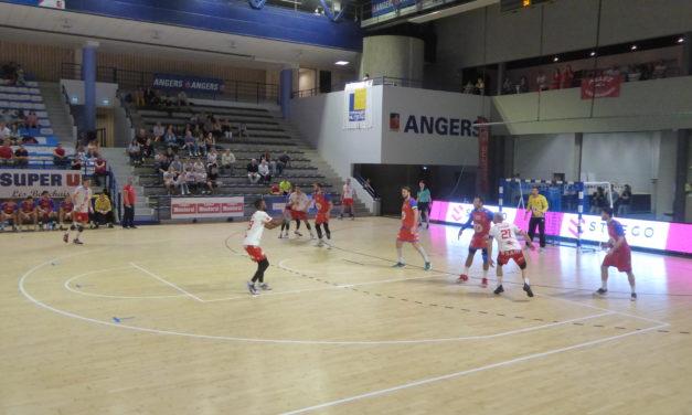 N1M (10e journée de play-offs) : Angers-Noyant s'est fait peur face à Valence (27-23).