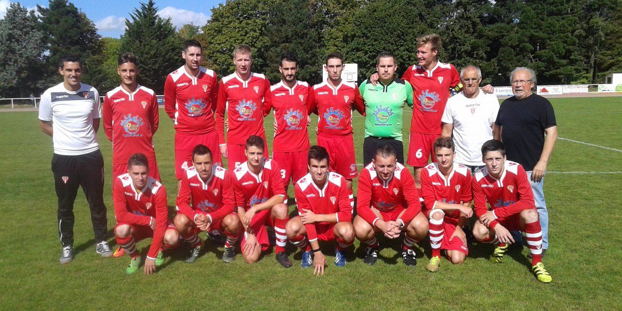 L'équipe première seniors lors de la saison 2016-2017.