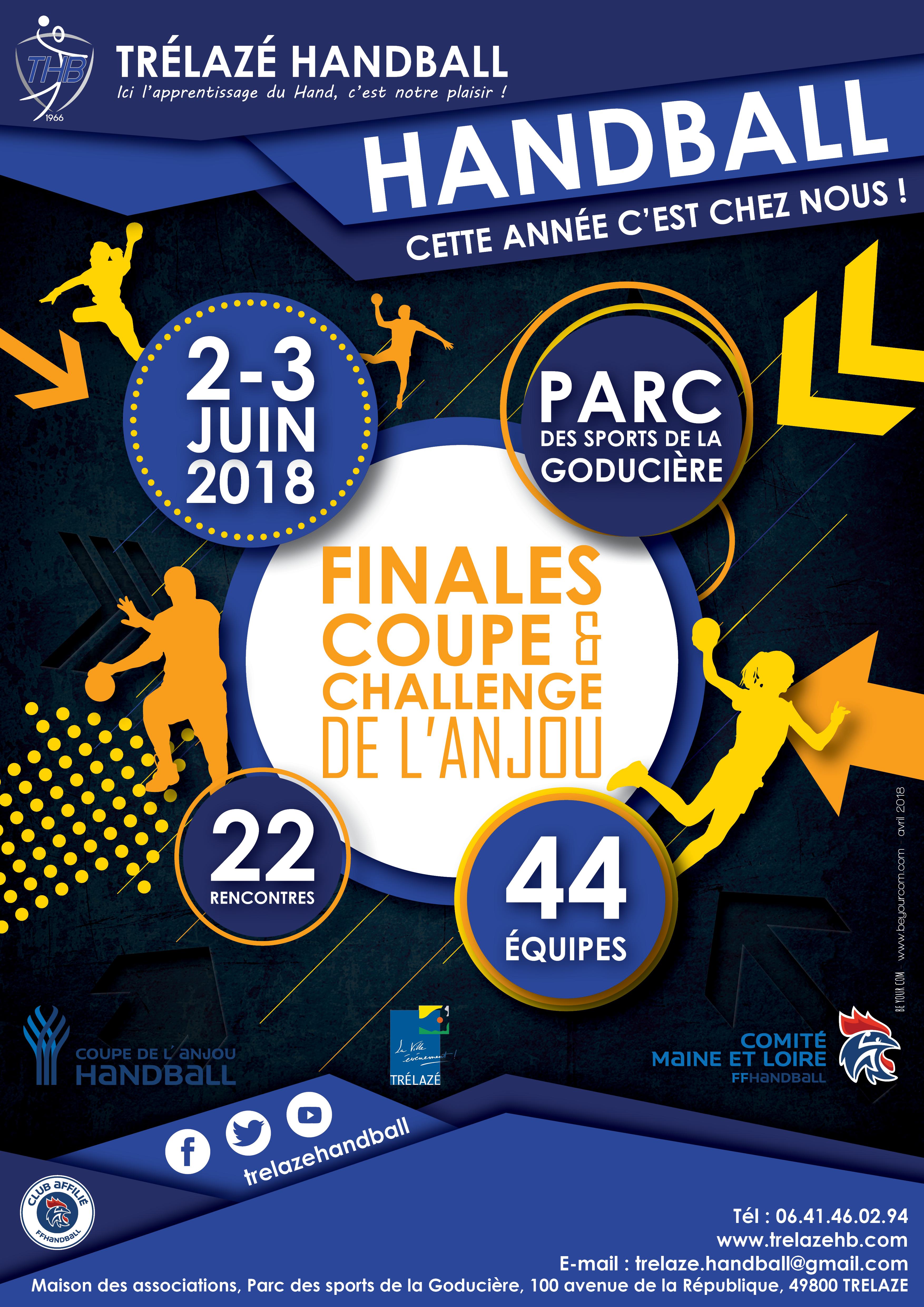 affiche Coupe de l'Anjou