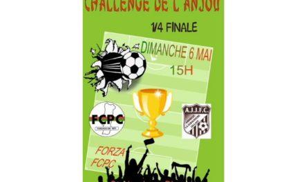 Quart de finale du challenge de l'Anjou : Andrezé-Jub-Jallais rêve de faire tomber le Cholet FCPC.