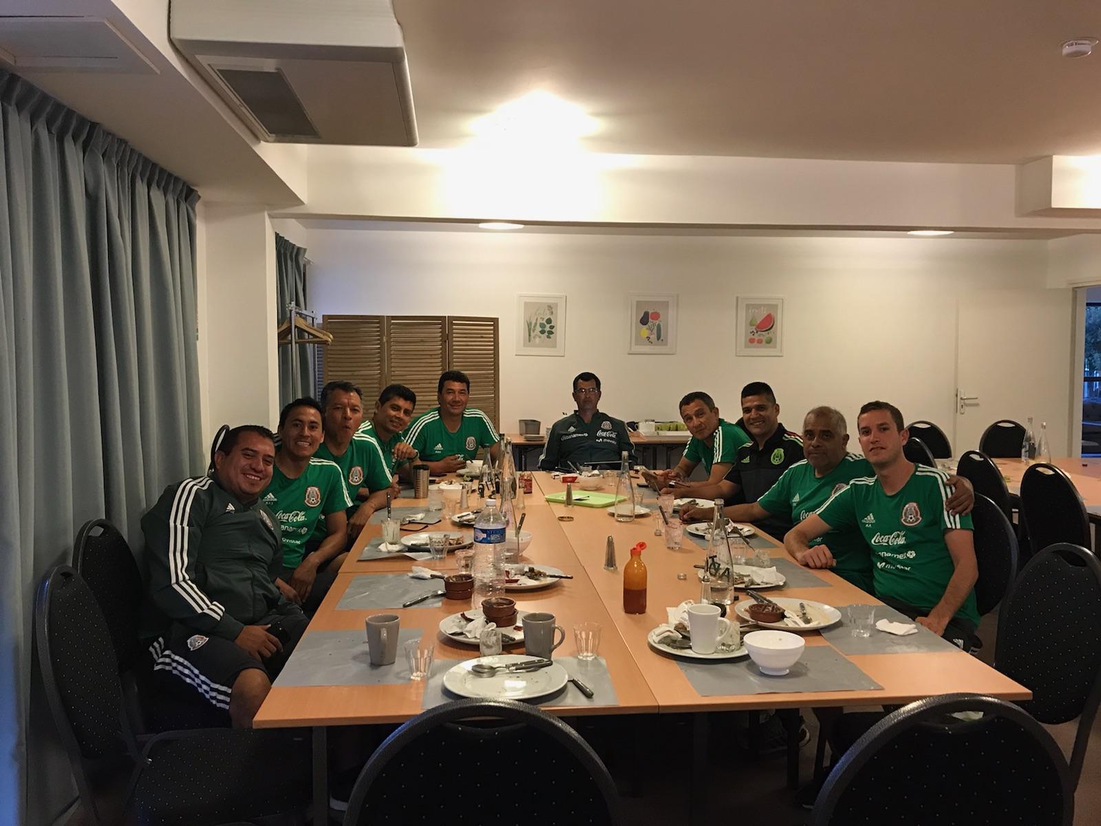 Carlos GOMEZ avec la sélection mexicaine.