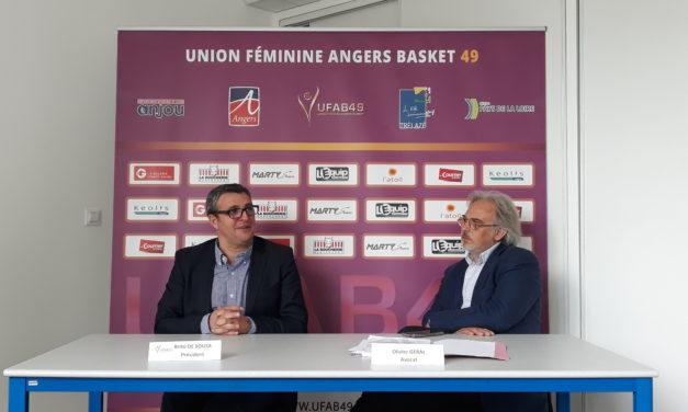 Brito DE SOUSA nous fait le bilan de la saison de l'Union Féminine Angers Basket.