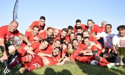Finale de la Coupe de l'Anjou : L'ASI Mûrs-Érigné, n'a laissé aucune chance à Pellouailles-Corzé sévèrement battu, 4 buts à 0.