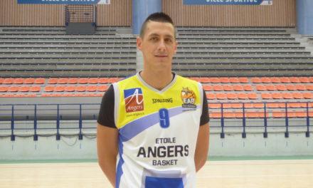 Jérémy BICHARD est la deuxième recrue de l'Étoile Angers Basket.
