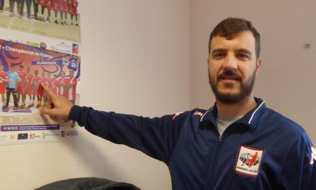 N1M : Enrique PLAZA LARA est la première recrue d'Angers SCO Handball.