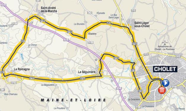 Présentation de la troisième étape du Tour de France 2018 à Cholet.