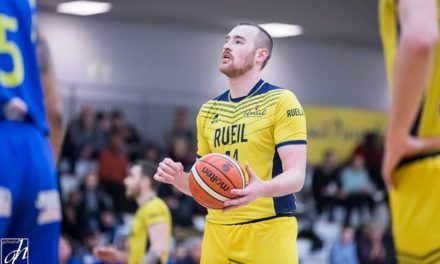 En provenance du Rueil Athletic Club, Kyle TRESNAK (pivot MVP 2017/18) est un renfort de poids pour l'Étoile Angers Basket !