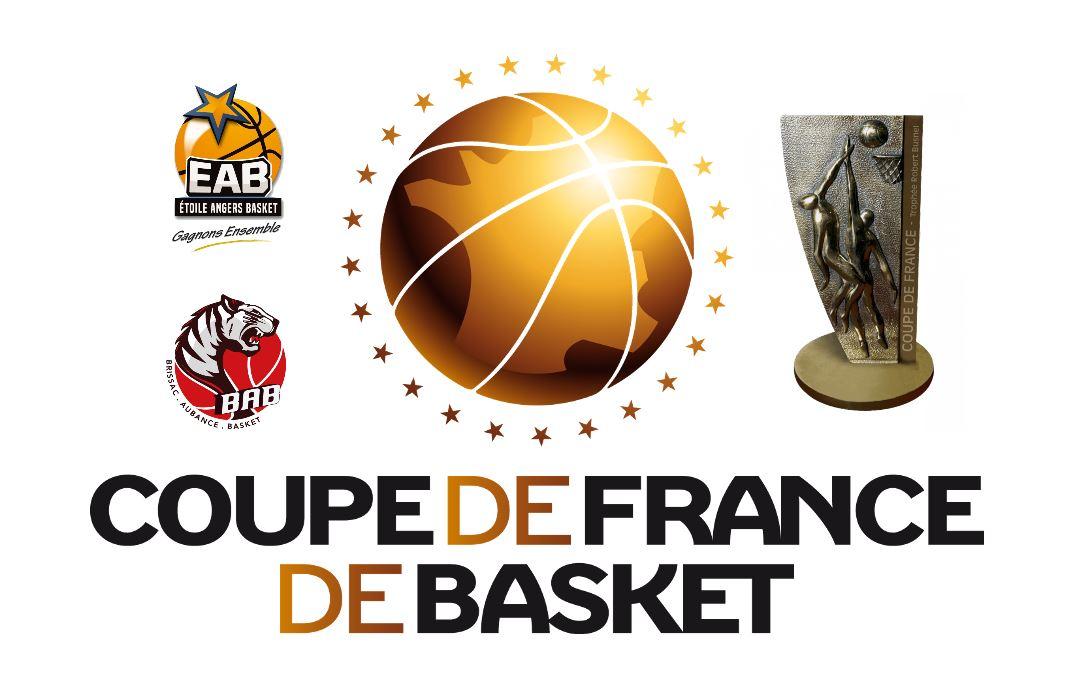 Tirage au sort des seizièmes de finale de la coupe de France pour l'Étoile Angers Basket et Brissac Aubance Basket.