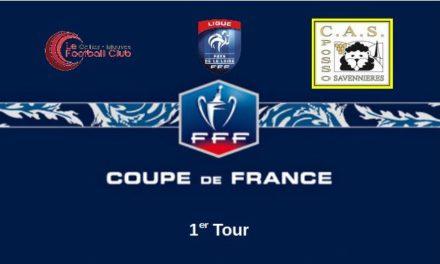 Coupe de France (1er Tour) : La Possosavennières était en manque d'inspiration au Cellier-Mauves (0-1).