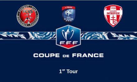 Coupe de France (1er Tour) : L'Intrépide d'Angers a été supérieur face à des Villevêquois diminués (5-0).
