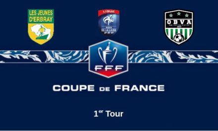 Coupe de France (1er Tour) : L'OBVA s'attend à un match piège à Erbray.