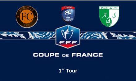 Coupe de France (1er Tour) : Long déplacement dans l'inconnu pour Les Ponts-de-Cé face au Ménil FC.