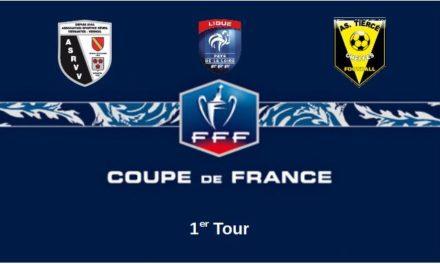Coupe de France (1er Tour) : Tiercé-Cheffes devra être sérieux à Vernoil-Vernantes pour passer ce premier tour.