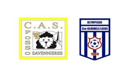 Amical : Match intéressant et plaisant entre la Possosavennières et Sainte-Gemmes-sur-Loire (1-1).