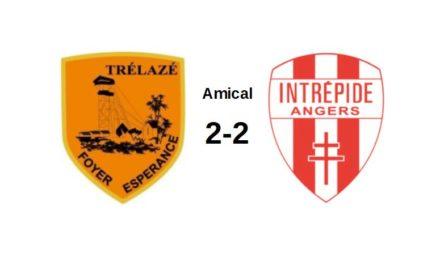 Amical : Le Foyer de Trélazé et l'Intrépide d'Angers se quittent dos à dos (2-2).