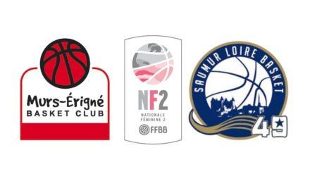 NF2 : Les équipes de Mûrs-Érigné et de Saumur sont fixées sur leur calendrier de championnat.