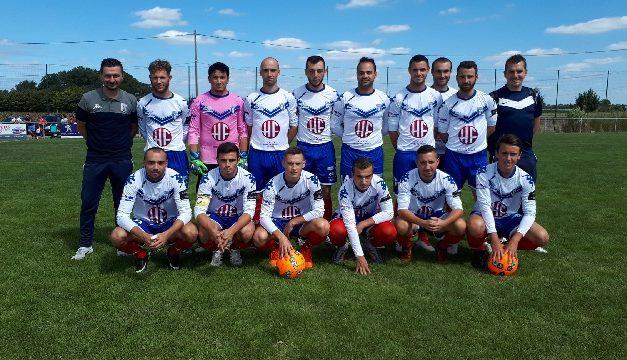 D2 (8e journée) : Match sérieux de Sainte-Gemmes-sur-Loire face aux Ponts-de-Cé (b) (8-0).