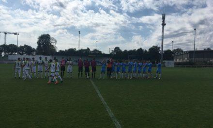 R3 (1ère journée) : Saint-Pierre Montrevault a su adapter son jeu face à une belle équipe de la Roche-sur-Yon (b) (2-1).