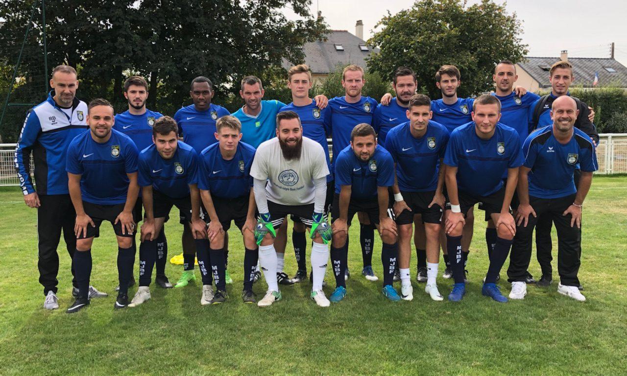 D1 (21e journée) : Montreuil-Juigné a su être efficace face à Trémentines (4-0).