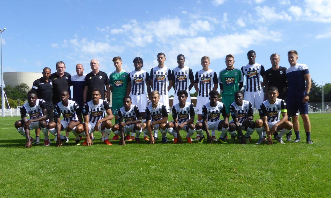 U19 National (16e journée) : Angers SCO se fait surprendre à la 95e minute par le Tours FC (1-0).