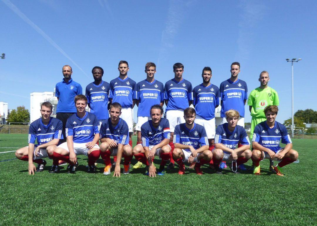R3 (11e journée) : Le RC Doué-la-Fontaine renoue enfin avec la victoire face au Pays de Chantonnay (2-1).