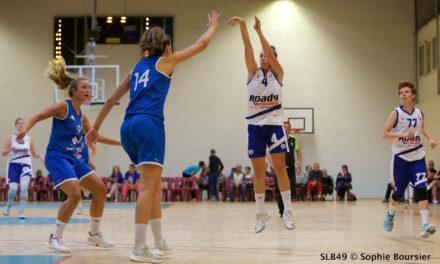 Les filles du Saumur Loire Basket 49 reçoivent Carmaux ce samedi à Bagneux.