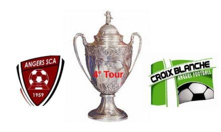 Coupe de France (4e Tour) : Angers SCA reçoit la Croix Blanche dans un derby qui s'annonce disputé.