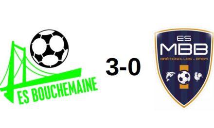 R3 (1ère journée) : Bouchemaine a bien géré son match face à Brétignolles (3-0).
