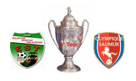 Coupe de France (4e Tour) : Saumur OFC a fait respecter la hiérarchie à l'Églantine de Trélazé (5-0).