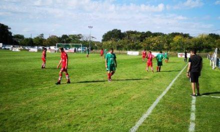 R3 (1ère journée) : L'Églantine de Trélazé était trop diminuée face au FC Robretières (1-3).