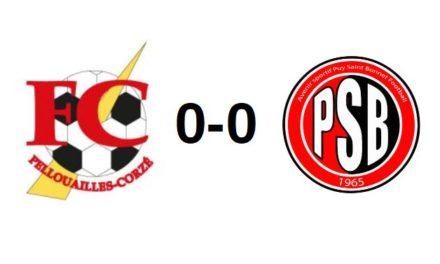 D1 (1ère journée) : Pellouailles-Corzé a manqué son rendez-vous au Puy-Saint-Bonnet (0-0).