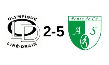 D1 (1ère journée) : Bonne prestation des Ponts-de-Cé à Liré-Drain (5-2).