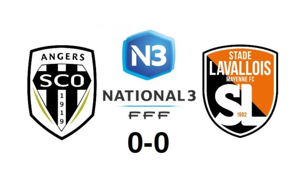 National 3 (4e journée) : Angers SCO et le Stade Lavallois se quittent dos à dos (0-0).