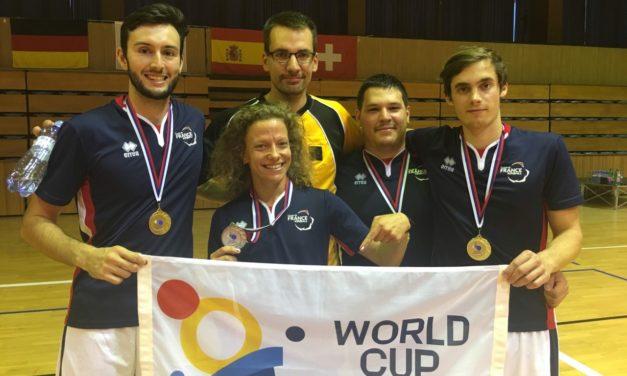 L'équipe de France masculine de Kin-Ball championne d'Europe 2018