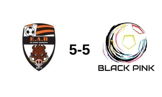 D1 Futsal (1ère journée) : Pas de vainqueur entre Baugé En Avant Baugeois – Châteauneuf Black Pink (5-5).