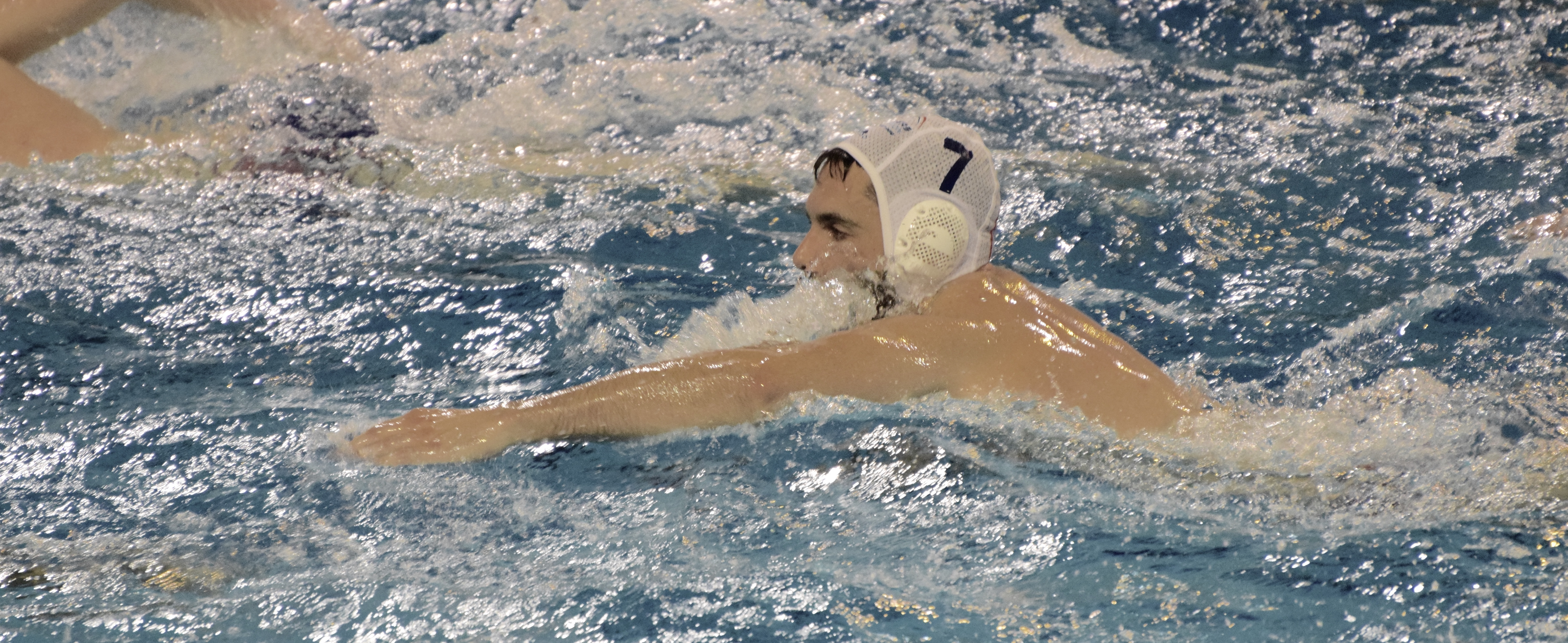 Vincent LAURENT, capitaine d'Angers Natation Water-Polo.