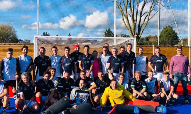 Courte victoire d'Angers SCO Hockey contre l'équipe de France vétérans.