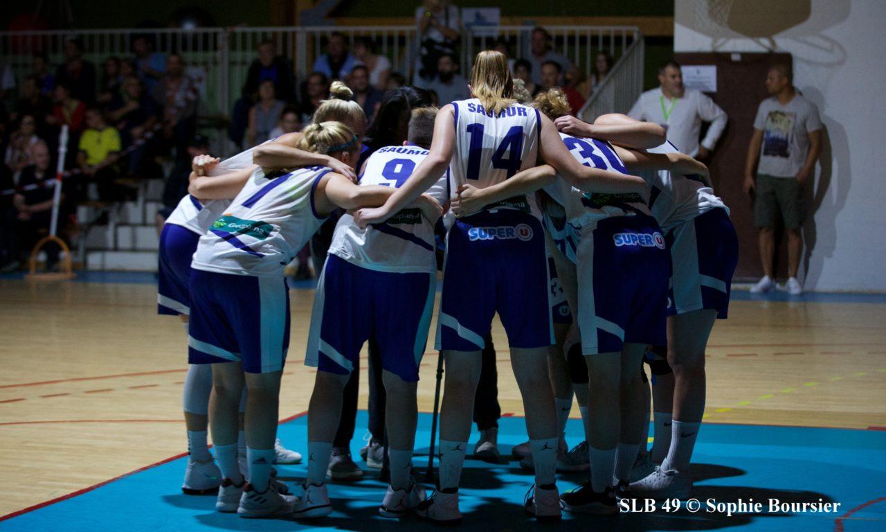 Les joueuses du Saumur Loire Basket 49 reçoivent Anglet, samedi soir à 20h00.
