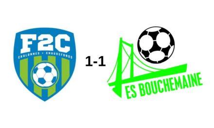 R3 (7e journée) : Pas de vainqueur dans le choc au sommet entre Chalonnes et Bouchemaine (1-1).