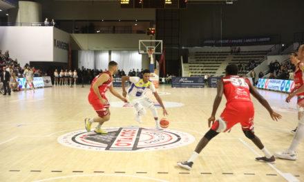 NM1 (16e journée) : L'Étoile Angers Basket a été tout près de l'exploit face à Challans en s'inclinant dans le money-time (79-77).