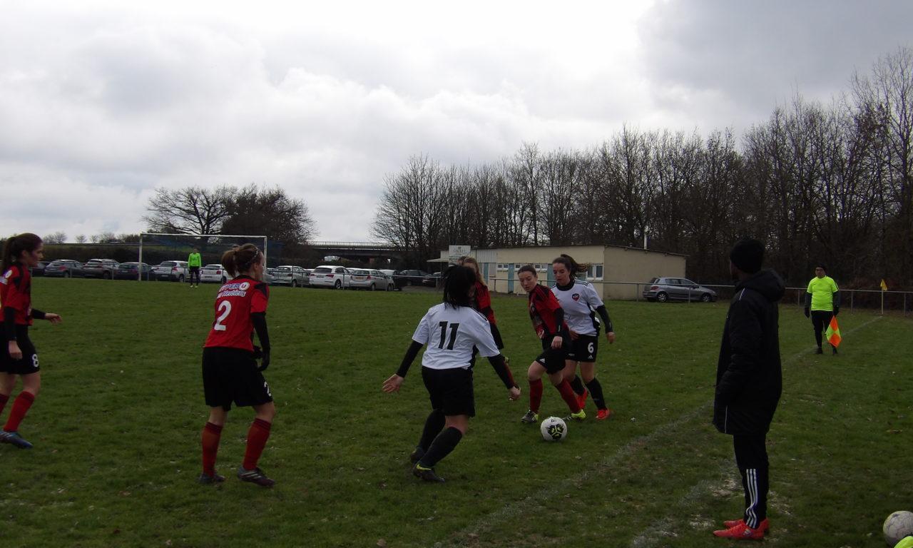 R2 Féminine (10e journée) : Belle victoire des Choletaises sur les Herbretaises (2-0).