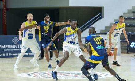 NM1 (17e journée) : L'Étoile Angers Basket craque en fin de match à Rueil (102-84).
