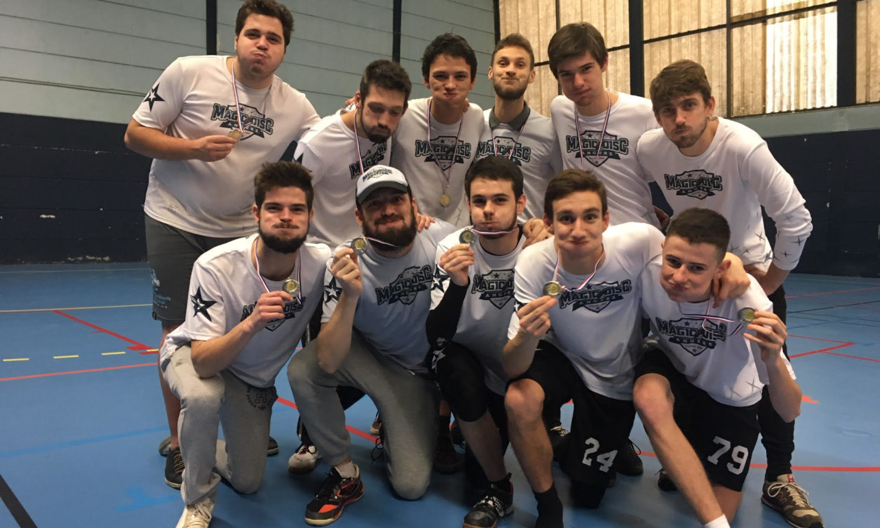 Le Magic Disc Angers termine une nouvelle fois, vice-champion de France Indoor !