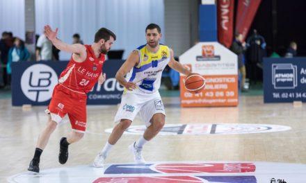 N1M (20e journée) : L'Étoile Angers Basket a été tout en maîtrise face au Havre (80-61).