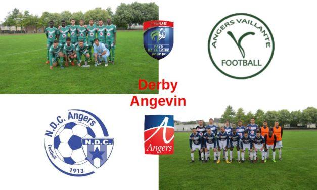 R2 (12e journée) : Très efficace, la NDC fut sans pitié pour la Vaillante dans le derby angevin (0-4) !